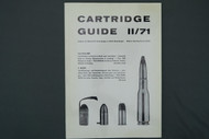 Cartridge Guide 11/71 Sporting Goods GMBH 2nd Volume