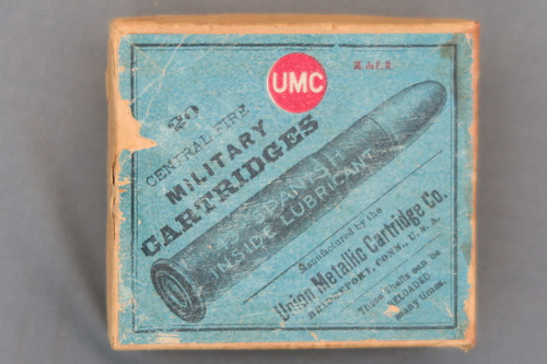 UMC 43 Spanish Central Fire Military Cartridges Top