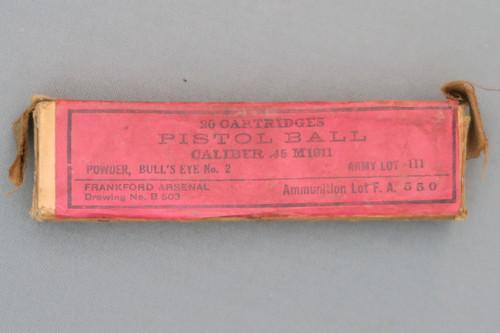 Frankford Arsenal 45 M1911 Pistol Cartridges