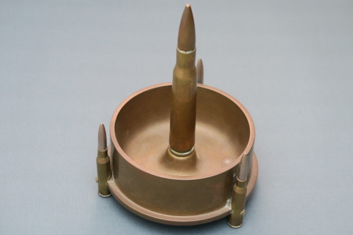 World War 2 Trench Art Ashtray