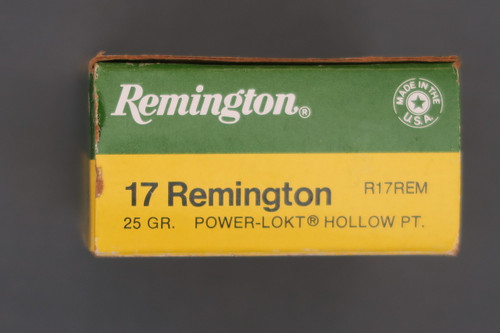 17 Remington 25 Grain Power-Lokt Hollow Point Ammunition