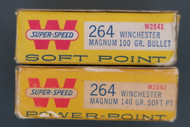 264 Winchester Magnum Ammo Right End