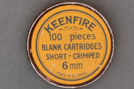 Keenfire 6MM Short Crimped Blank Cartridges