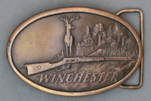 Oval Winchester Belt Buckle