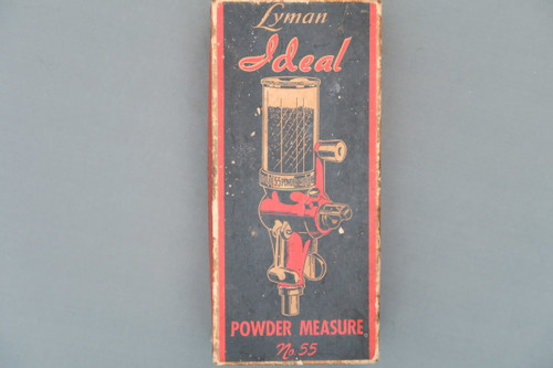 Lyman Ideal Powder Measure No. 55 Box Top