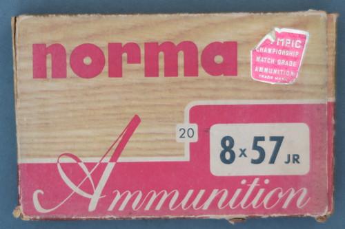 Norma 8X57 JR Brass