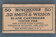 Winchester Western 32 Smith & Wesson Blank Cartridges