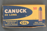 Canuck 32 Long Rim Fire Ammunition