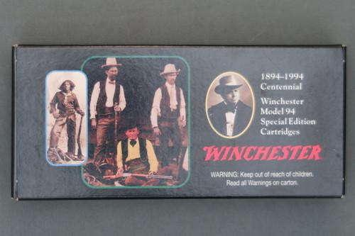 Winchester 1894-1994 Centennial Model 94 Special Edition 30-30 Cartridges