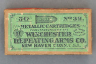 50 Short No 32 Metallic Cartridges Manufactured By The Winchester Repeating Arms Co. Top