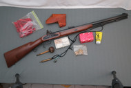 T/C Renegade 50 Caliber Flintlock Rifle S#283816 With Shooting Kit