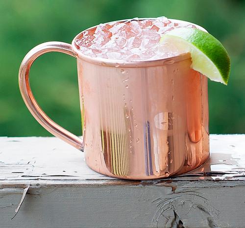 16 oz Copper Moscow Mule Mug 50 Pack