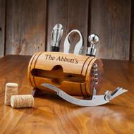 Wine Barrel Accessory Kit Bottle Opener Wine Opener