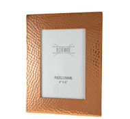 "4""x6""Hammered Copper Picture Frame"