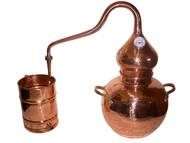 10 Liter Soldered Alembic Whiskey Still