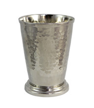 Hammered Nickel Mint Julep Cup 12 oz