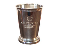 Engraved Nickel Mint Julep Cup