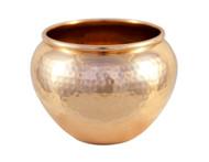 Hammered Copper Pot