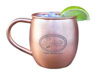 Bulk Etched Barrel Copper Mugs - Qty 100