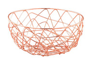 Copper Wire Storage Basket-9""