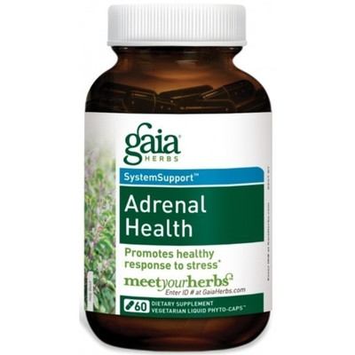Adrenal Health Daily Support LP 60 Caps by Gaia Herbs