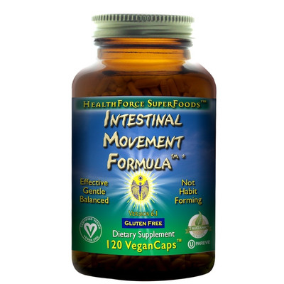 Intestinal Movement Formula V5 - 120 VeganCaps by Healthforce