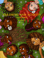 Coloring and Activity Fun Book by J.D. Wright