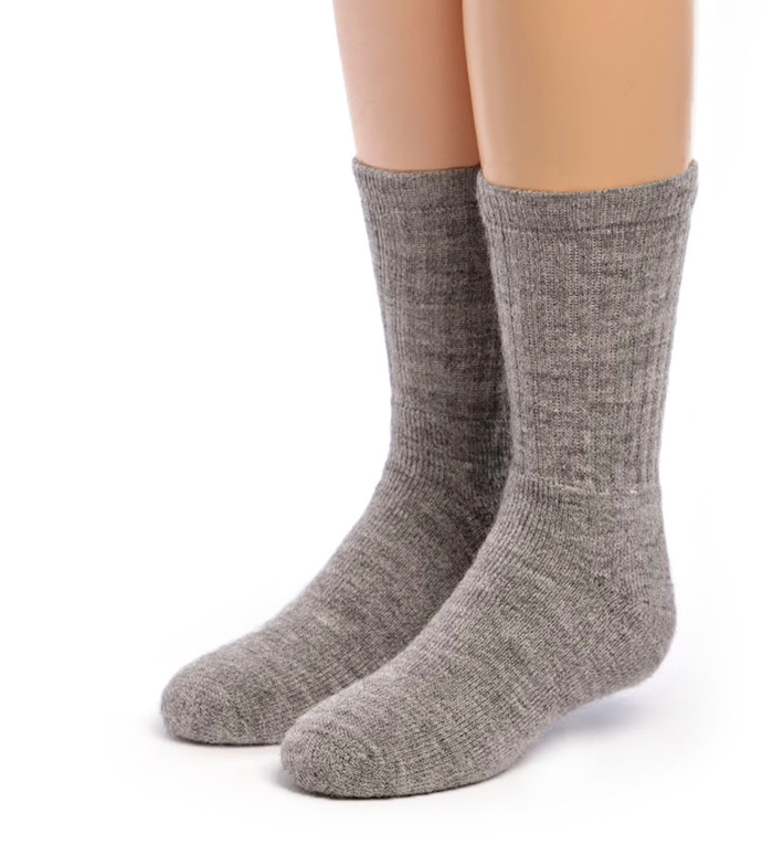 Kids Outdoor Alpaca Socks