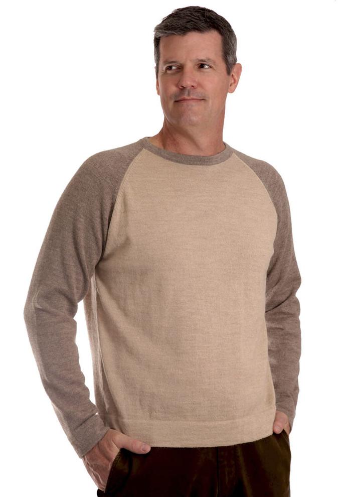 Men's Baseball Pullover Sweater - More Colors!