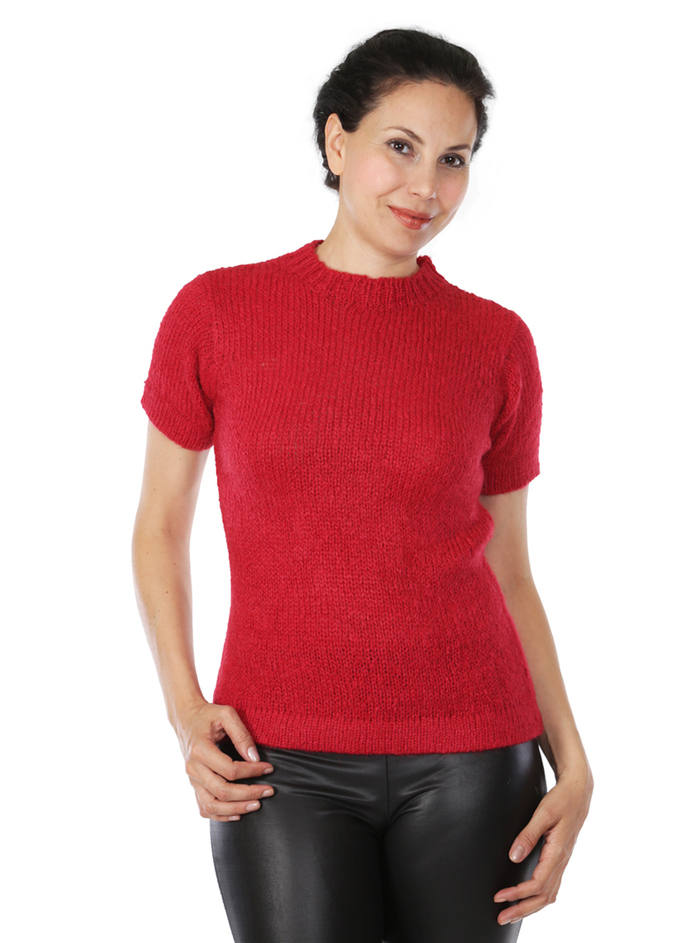 Blair Short Sleeve Suri Sweater