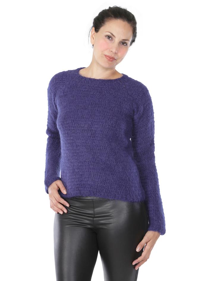 Daphne Crochet Pullover