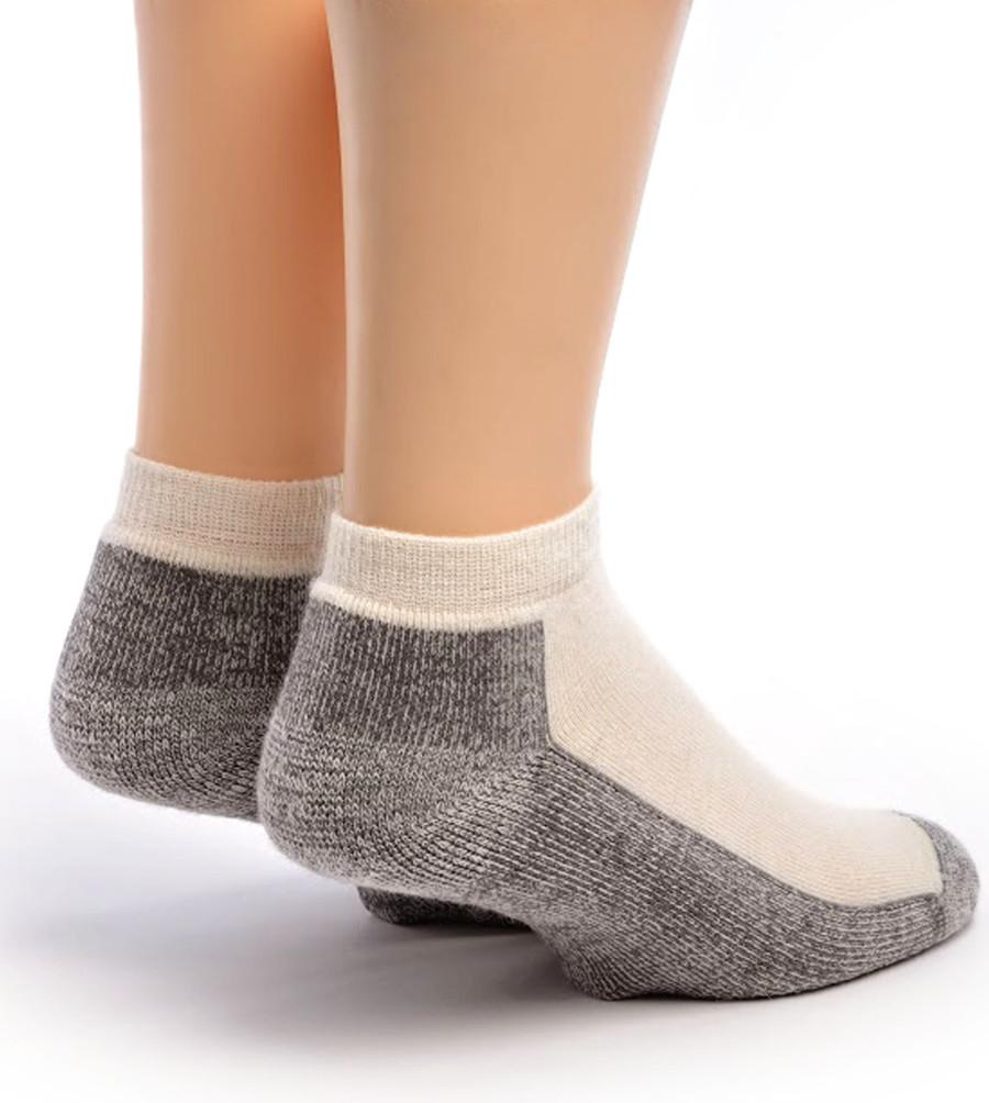 Mini Crew Alpaca Socks Back