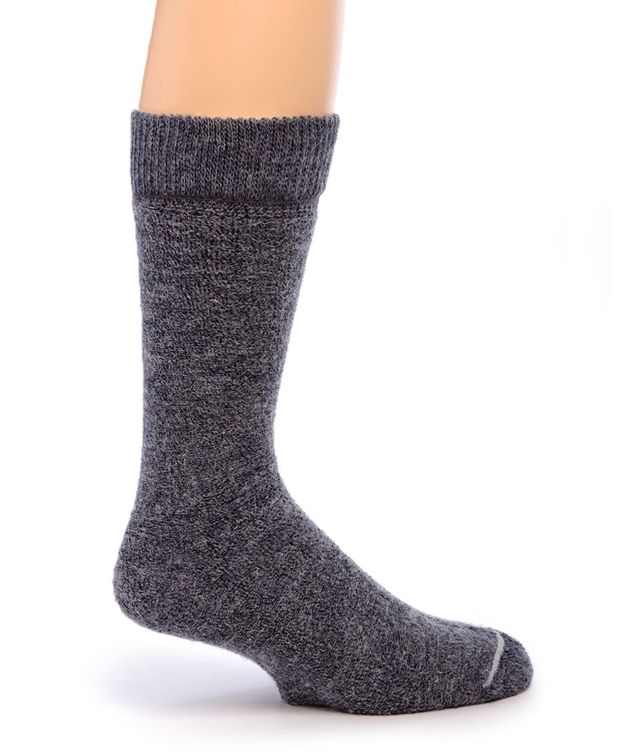 Outdoor Terry Lined Alpaca Socks Inside