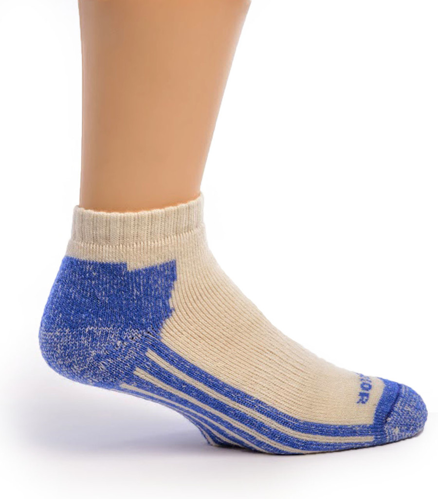 High Performance Alpaca Shorty Sport Sock Side