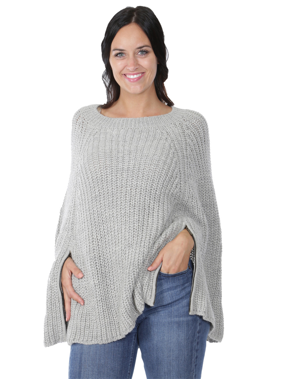 Modern Holmes Poncho Front