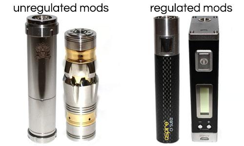 Unregulated Mods vs Regulated Mods