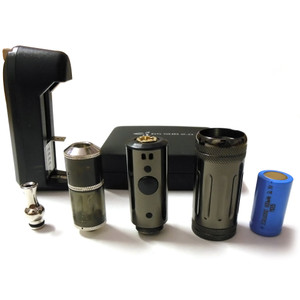 GS-Sub 2.0 Telescopic Variable Voltage Mod Starter Kit - Black
