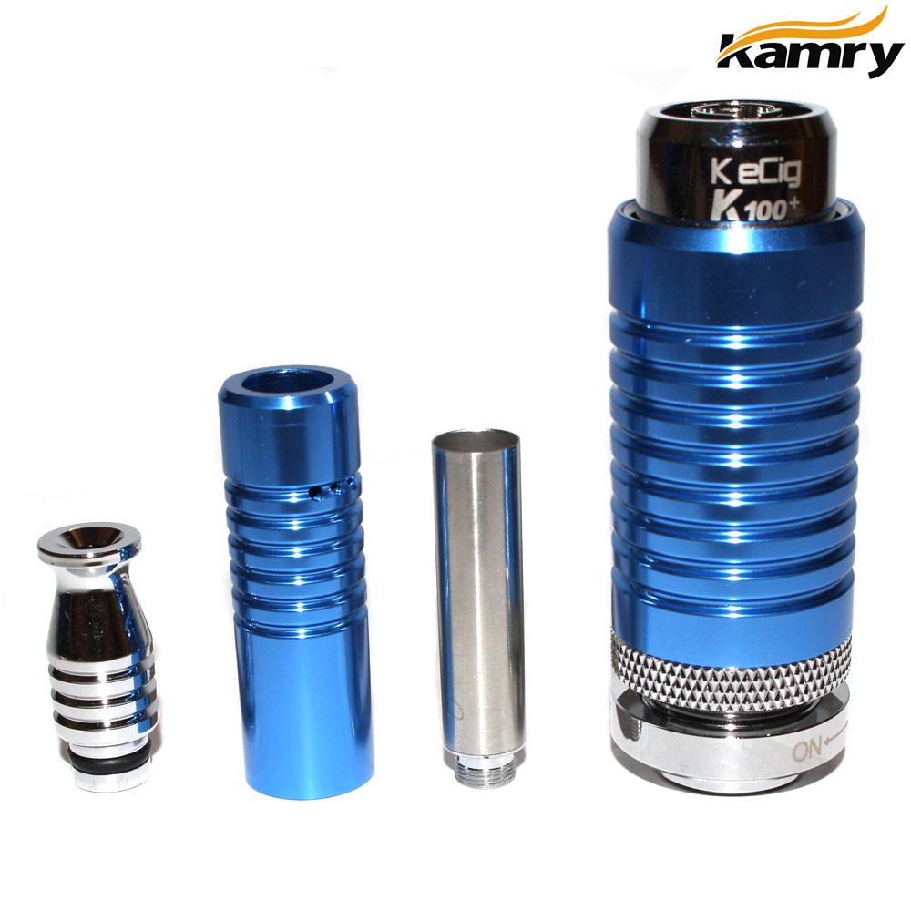Kamry K100 Telescope Mechanical Mod Starter Kit - Blue - Vape It Now