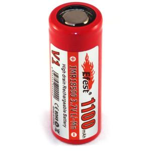 Efest IMR 18500 Flat Top 1100mAh Li-Mn Rechargeable Battery
