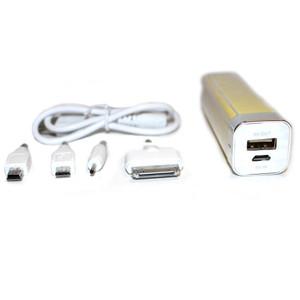 Sailing Portable USB Power Bank Charger - 2200mAh - Yellow