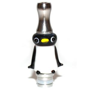 Penguin Stainless Steel Art Glass 510 Drip Tip