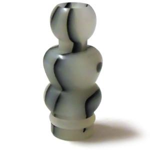 Yeti Swirl Acrylic  510 Drip Tip - White