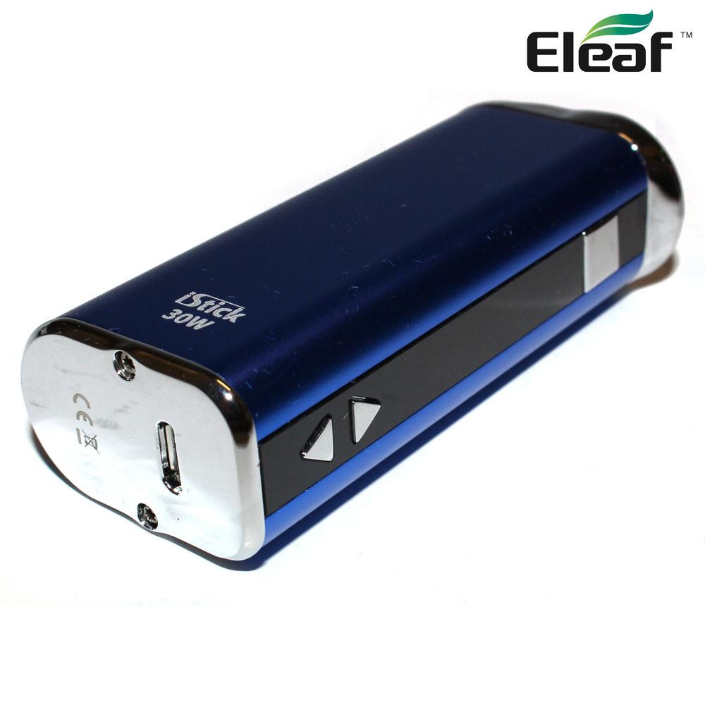 Eleaf iStick 30W Box Mod Kit - Blue - Vape It Now