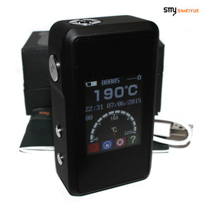 SMY 60W Temperature Control Mini Box Mod - Black