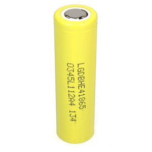 LG HE4 18650 2500mAh 35A Flat Top Battery