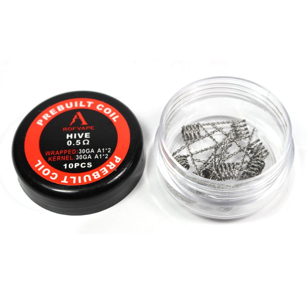 Rofvape Hive Prebuilt Wire - 0.5ohm (30GA+30GA)*2 (10pcs) - Vape It Now
