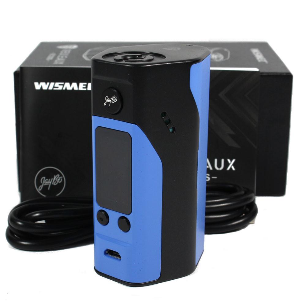 Wismec Reuleaux RX200S 200W TC Box Mod - Black & Blue - Vape It Now
