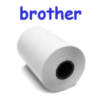 Perforated Paper for Brother / 6 Rolls