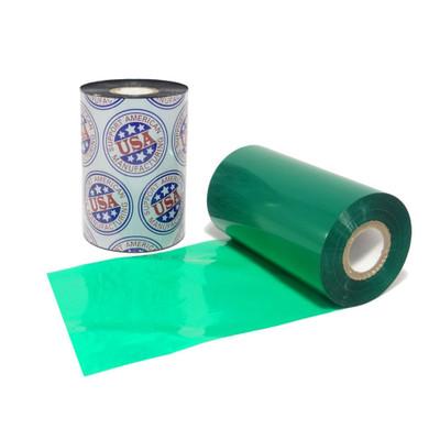 """Wax Ribbon: 2.00"""" x 1,181' (50.8mm x 360m) Ink on Inside, Green"""
