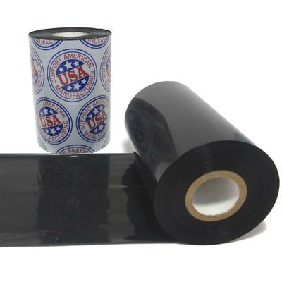 "Wax Ribbon: 2.52"" x 1,181' (64.0mm x 360m), Ink on Inside, General Use"